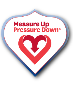 Web Badge - Measure Up Pressure Down (TM)