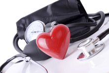 Blood Pressure Cuff with a Heart