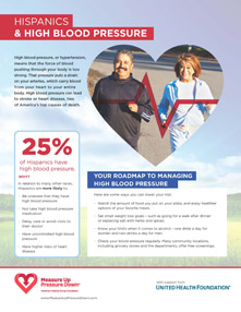 Hispanics & High Blood Pressure Factsheet