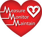 Measure, Monitor, and Maintain Logo